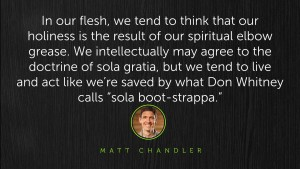 Matt Chandler Quote grace